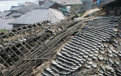 直下型地震の余震は住民に恐怖を与え続ける