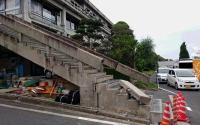 鳥取県中部地震、震度6弱の震源地倉吉市の災害対応