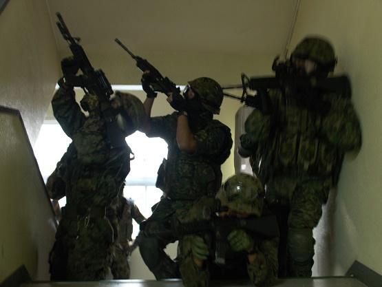 現状の訓練に満足していない隊員を如何に強くしていくか