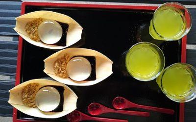 山梨県甲府一帯オオクワガタ採集裏バージョン -水を食べる食感『水信玄餅』-