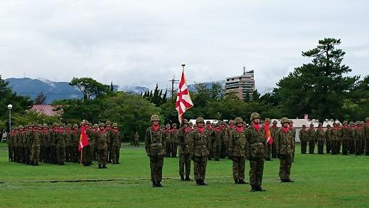 強さと雰囲気がいい方向へ変化し始めたことを感じる小倉駐屯地記念行事と第40普通科連隊
