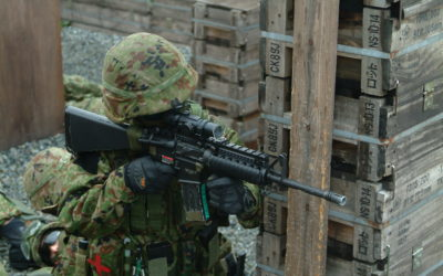 小倉駐屯地広報室から見た当時の第40普通科連隊